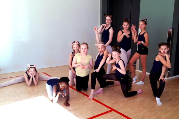 Baletti 3-4 -ryhmän treenit