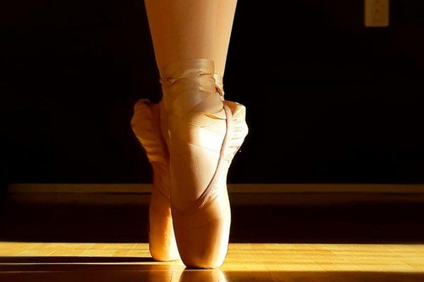 Ballerina treenaa