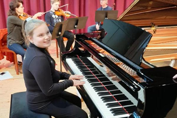 Pianoaura PianoZoo -konsert / Pianoauran PianoZoo-konsertti